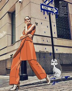 Fashion Art – Donna Adi: i love the concept of the scale in this one, it creates a really interesting focal point in the work compared to a straight front on portrait. Foto Doodle, Doodle On Photo, Creative Photography, Portrait Photography, Fashion Photography, Photography Illustration, Photo Illustration, Illustrations Vintage, Design Illustrations