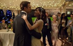 Rose Byrne and Rafe Spall dance the night away.