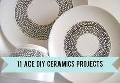 Creative: Eleven DIY Ceramic Projects