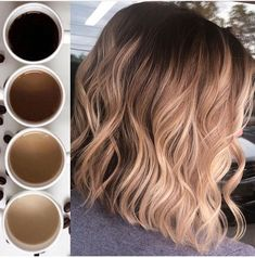 The Countdown continues 🤩 Another Coffee fav. This one came in at Number 4 th… The Countdown continues 🤩 Another Coffee fav. This one came in at Number 4 this year for top photos, this photo is one of my personal… Cabelo Ombre Hair, Dyed Hair Ombre, Brown Ombre Hair, Brown Blonde Hair, Ombre Hair Color, Hair Color Balayage, Brown Hair Colors, Baylage Short Hair, Blonde Balayage