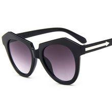 2016 nueva llegada de moda Vintage Sunglass mujeres Punk Casual Cat Eyes protección UV gafas de sol para Unisex envío gratis G138(China (Mainland))