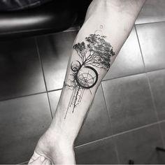 Tattoo by @samsara.tattoo ___ Art page @Equilatterart ___ www.EQUILΔTTERΔ.com ___ #Equilattera