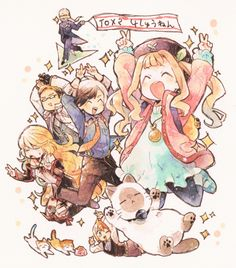 Tales of Xillia 2 Cast