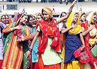 folkdances of India - Bhangra Dance, Folk Dance, Sumo, Wrestling, India, Lucha Libre, Goa India, Indie, Indian