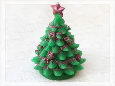 Мыло Ёлка 3д - праздничная, яркая, нарядная, объемная елочка станет приятным подарком к новому году!