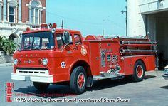 San Antonio Fire Department Ward LaFrance apparatus (all long retired)