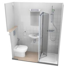 Bathroom showers 247768416986659470 - Zigourney Bathroom & Shower Pods Source by Shower Pods, Small Shower Room, Small Toilet Room, Small Bathroom Layout, Very Small Bathroom, Small Showers, Tiny Bathrooms, Tiny House Bathroom, Bathroom Showers