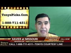 Xavier Musketeers vs. Missouri Tigers Pick Prediction  College Basketbal...