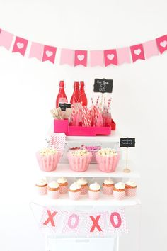 Create a Galentines celebration they'll never forget with a little help from our Container Stories: elfa Container Store Party Cart Inspiration