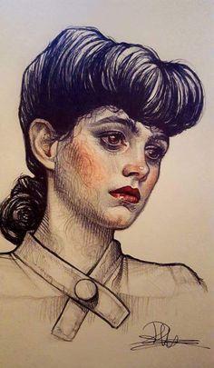Rebeca Puebla (Subversive Girl) - Blade Runner: Rachel.