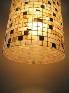 COFFEE FILTER ART  Lamp Hanging Lighting Lampshade by Lampada, $135.00