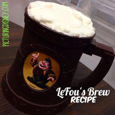 Picturing Disney: LeFou's Brew New Fantasyland Recipe! Disney Diy, Disney Food, Disney Recipes, Disney Stuff, Disney Magic, Disneyworld Food, Disney Ideas, Fun Drinks, Yummy Drinks