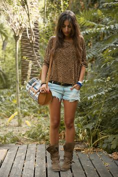 Wild leo (by Montse O) http://lookbook.nu/look/3931110-wild-leo