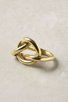 Knotted Weave Ring - Anthropologie.com