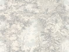 Mulberry Home Torridon Silver / Grey Wallpaper main image