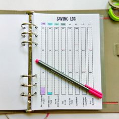 bullet journal finance
