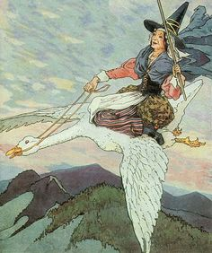Today I am fascinated by Old Mother Goose - Here is a link to Mama Lisa's House of English Nursery Rhymes