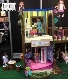 The Springfield Dolls' DIY Treehouse — Doll Diaries