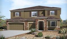 Paxton-P43P-ArroyoNrt Elevation C Rend | Paxton floor plan | Richmond American Homes | ,  |