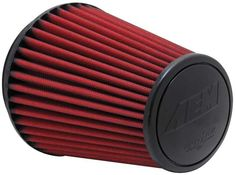 AEM 6 inch DRY Flow Short Neck 9 inch Element Filter Replacement