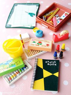 Re-ment stationery by Meowpaw