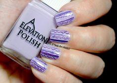 Monochromatic manicure by I'm A Nail Art Addict!