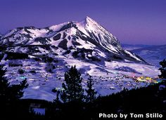 Crested Butte, Colorado. Excellent skiing.