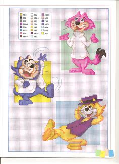 top cat personaggi - magiedifilo.it punto croce uncinetto schemi gratis hobby creativi