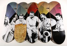 22502ca9ff18 A take of two anniversaries has led to the launch of the Western Edition  Miles Davis Quintet anniversary skateboards.Western Edition itself is  celebrating