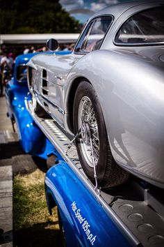 An All-Time Classic Show Stopper - Wonder Where the Early Vette's Design Cues Came From? Mercedes 300 SL Gullwing