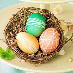 easter eggs... maybe in neutral colors?
