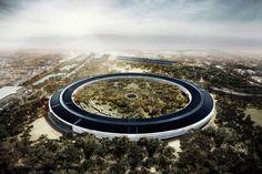 Apple et le cabinet Fosters Partners sont en train de concevoir Apple Campus 2, un nouveau siège gigantesque pour la marque à la pomme à Cupertino. Premières images.