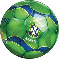 Bola De Futebol CBF 3262 DTC De: R$ 26,90 , Por Apenas: R$ 19,90 - Com 26% de desconto - Na www.maisvaldir.com.br