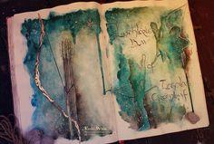Lothlorien bow of Legolas Greenleaf by Kinko-White on DeviantArt #LOTR #elves #Art
