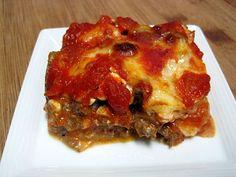 Dukan Diet Recipe: Eggplant Lasagne