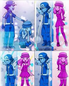Amourshipping ^.^ <3 Kudos to whoever made this