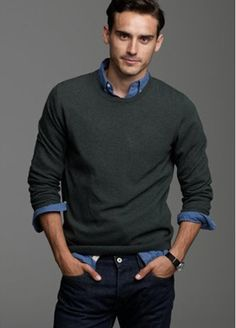Sweaters definitely work during the fall and winter! | Men's ...