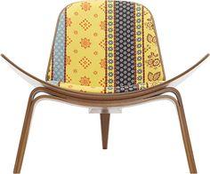 ALPINE STRIPE Shell Chair