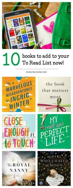 10 books to read right now!