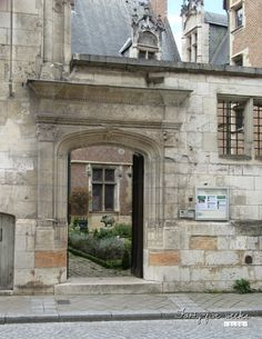 Bourges, France, Cher, Monuments, Kitsch, Berry, Sculpture, Architecture, Mansions