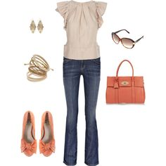 """""""coral"""" by mamafolie on Polyvore"""
