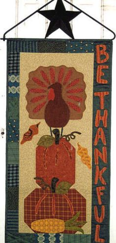 1000 Images About Thanksgiving Quilts And Crafts On
