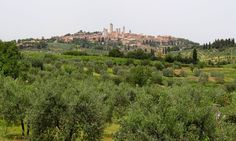 San Gimignano view  http://www.charminly.com/a-journey-into-the-past-among-ancient-towers-and-parish-churcheses/