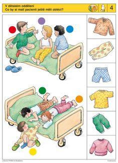 LOGICO PRIMO   Pro děti od 3 let   V nemocnici   Didaktické pomůcky a hračky - AMOSEK