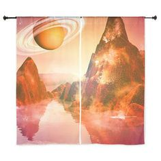 The# red #planet #Curtains