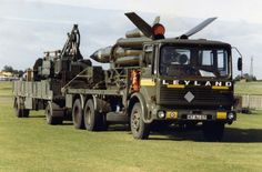 Leyland Bison 15t & 10t Primrose Trailer with Display Missile & Launcher.