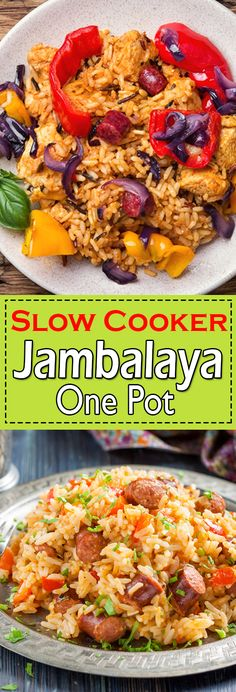 Jambalaya recipe is the ultimate comfort food packed with flavour. This authentic Jambalaya recipe is simmered with rice and Cajun seasonings. Chicken Main Course Recipes, Easy Chicken Thigh Recipes, Chicken Breast Recipes Healthy, Healthy Chicken Recipes, Beef Recipes, Donut Recipes, Yummy Recipes, Dessert Recipes, Slow Cooker Jambalaya