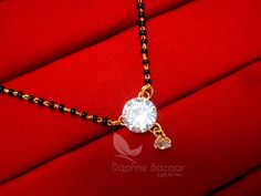 ME121P Daphne Cute Zircon Mangalsutra for Women | Jewelry & Watches, Ethnic, Regional & Tribal, Asian & East Indian | eBay!
