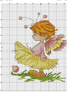 images attach c 11 128 255 Cross Stitch Fairy, Cross Stitch Angels, Just Cross Stitch, Cross Stitch Charts, Cross Stitch Designs, Cross Stitch Patterns, Cross Stitching, Cross Stitch Embroidery, Embroidery Patterns