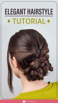 Elegant Hairstyles, Vintage Hairstyles, Bun Hairstyles, Pretty Hairstyles, Bridal Hairstyles, Hair Addiction, Hair Upstyles, Great Hair, Hair Day
